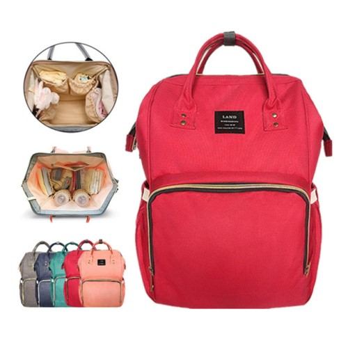 Red Hospital bag for baby