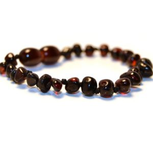 Baltic Amber Baby Teething Anklet/Bracelet