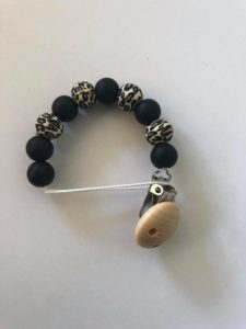 Leopard dummy clip