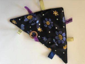 black triangle taggie