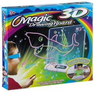 Example of what you can do with 3D Magic Drawing Board
